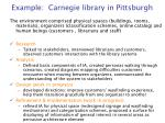 example carnegie library in pittsburgh