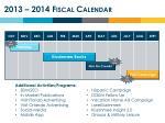 2013 2014 fiscal calendar