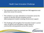 health care innovation challenge1