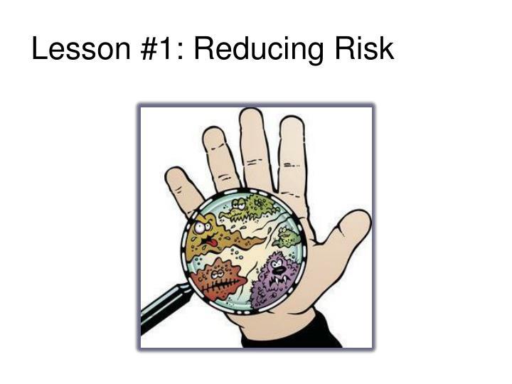 Lesson 1 reducing risk