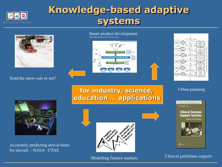 Knowledge-based adaptive systems