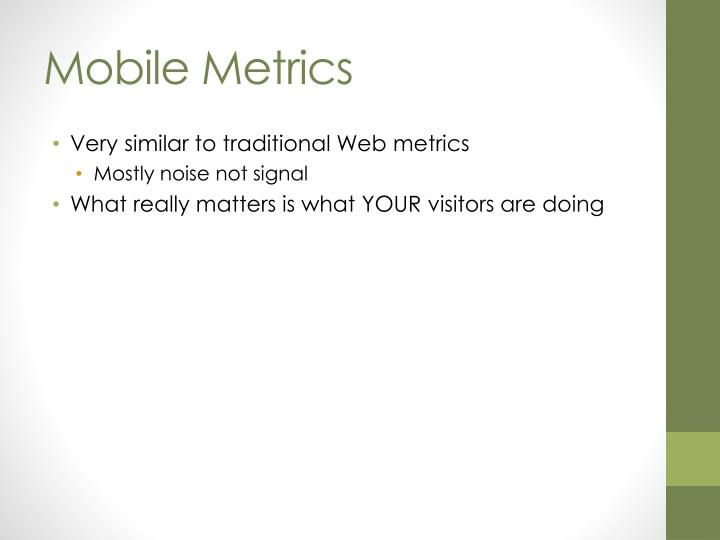 Mobile metrics1