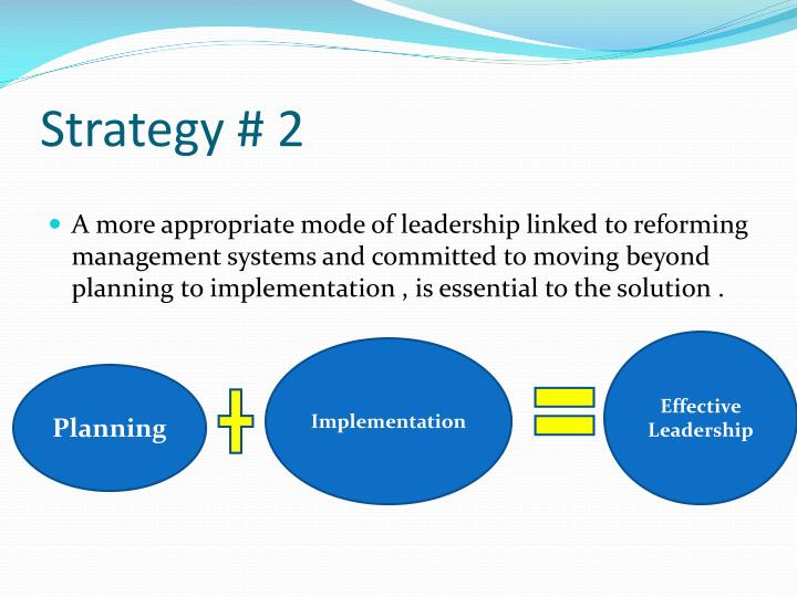 Strategy # 2