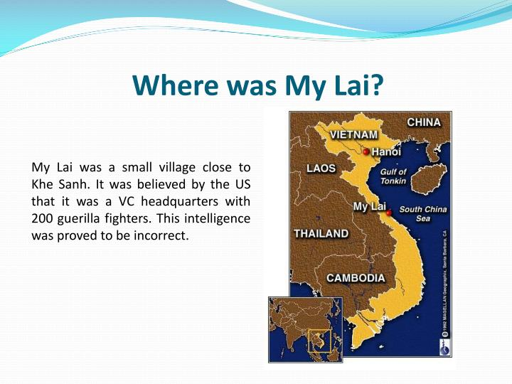 Where was My Lai?