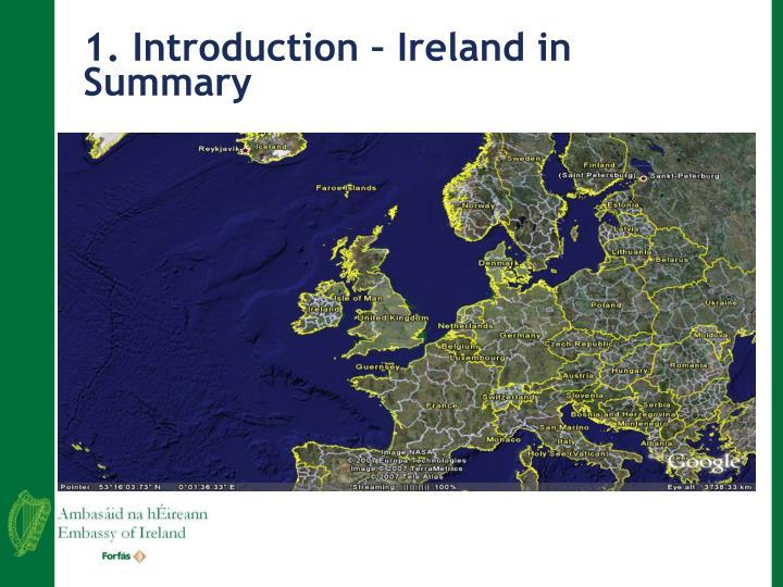 1 introduction ireland in summary