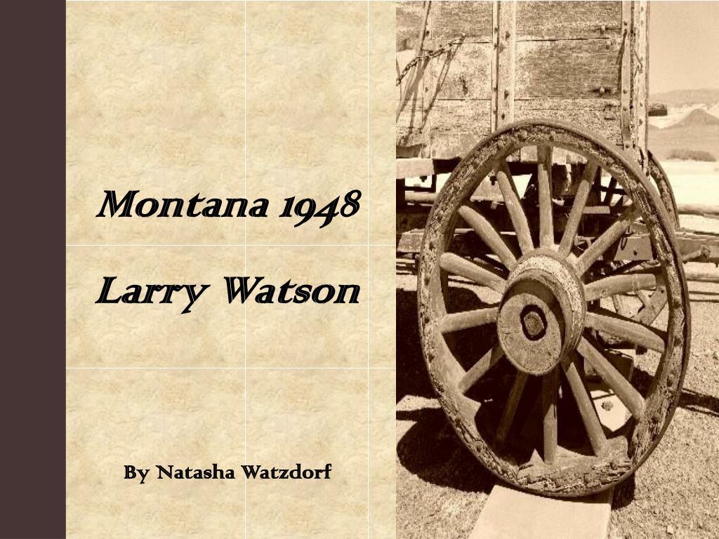 julian hayden montana 1948