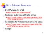 good internet resources