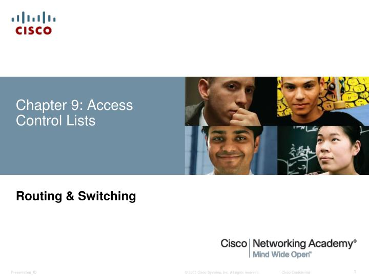 chapter 9 access control lists n.