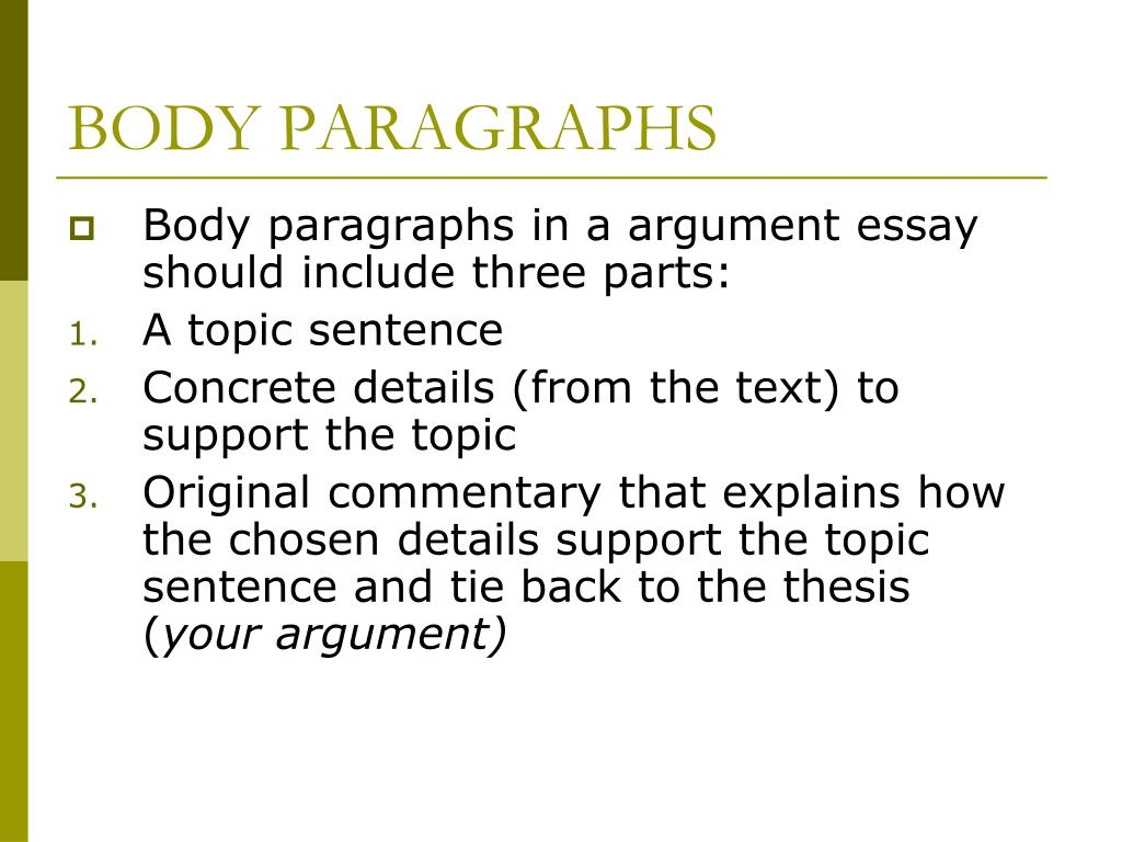 what is a concrete detail in an essay