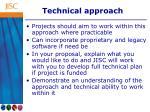 technical approach1