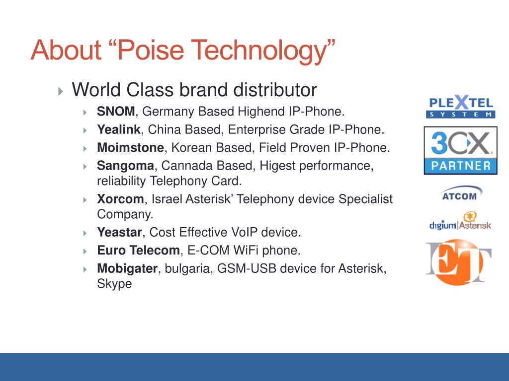 PPT - Poise Technology PowerPoint Presentation - ID:6825270