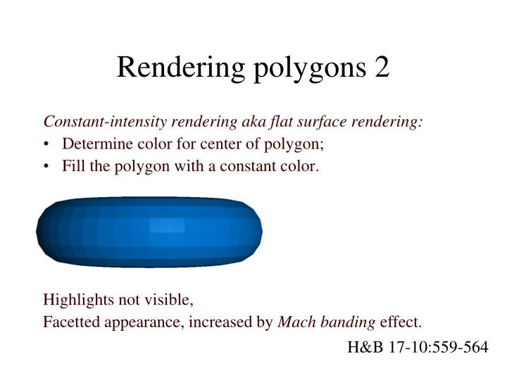 Rendering polygons 2