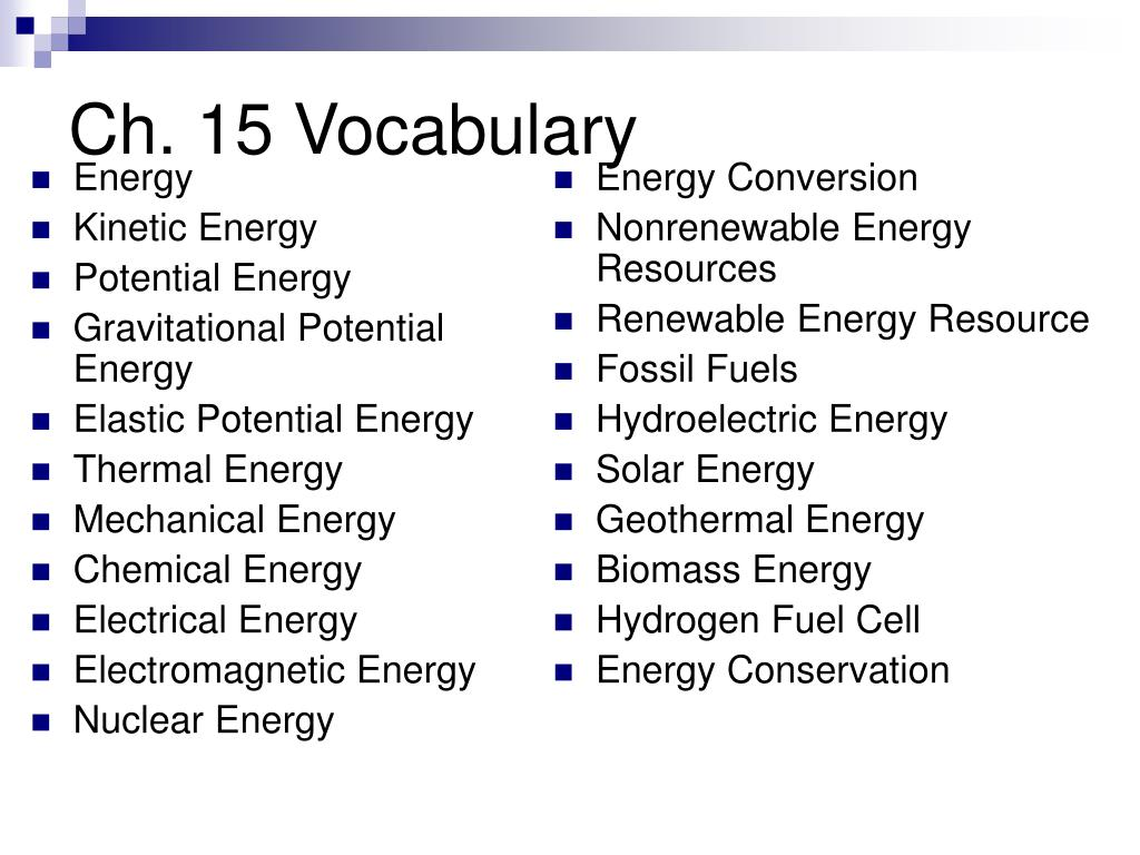 Thermal Energy Vocabulary Review Answers  Elegant