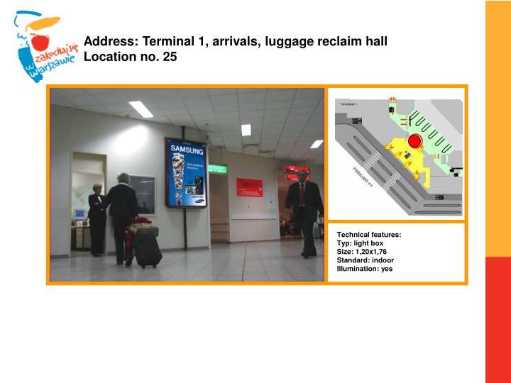 Address: Terminal 1,