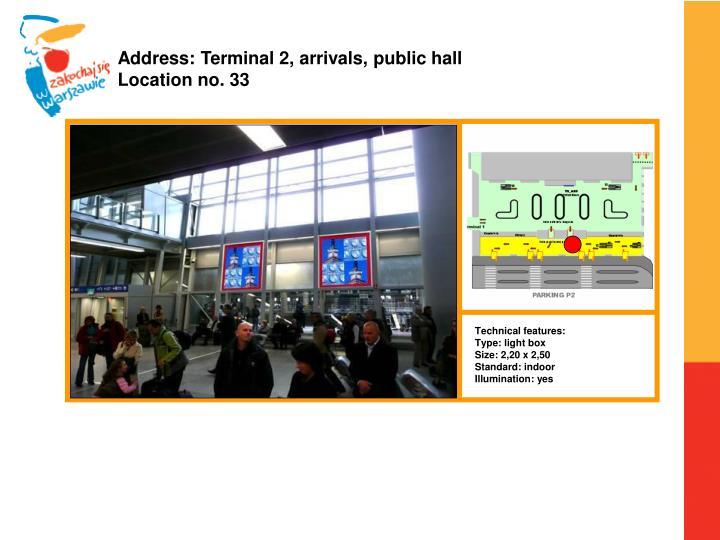 Address: Terminal 2,