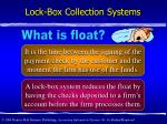lock box collection systems