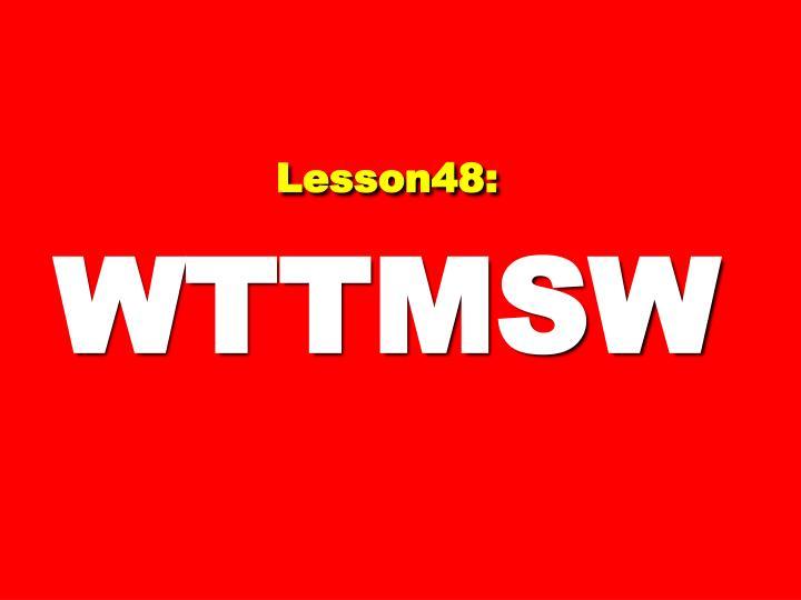 Lesson48:
