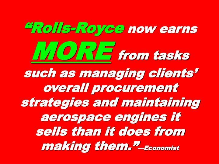 """""""Rolls-Royce"""