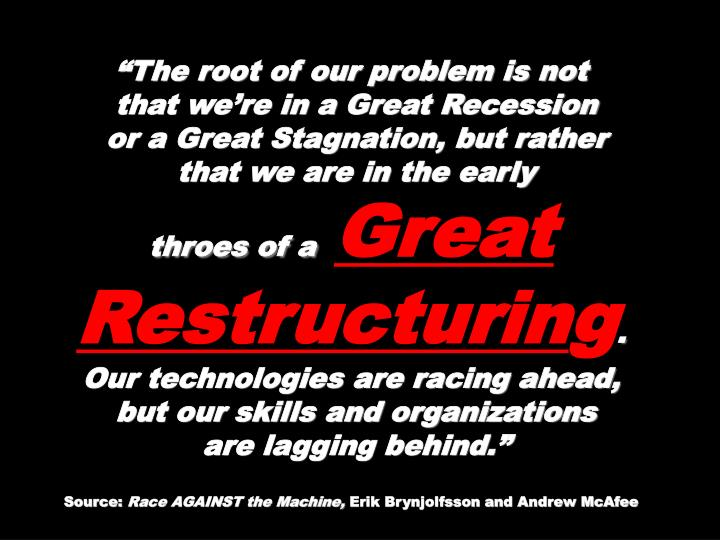 """""""The root of our problem is not"""