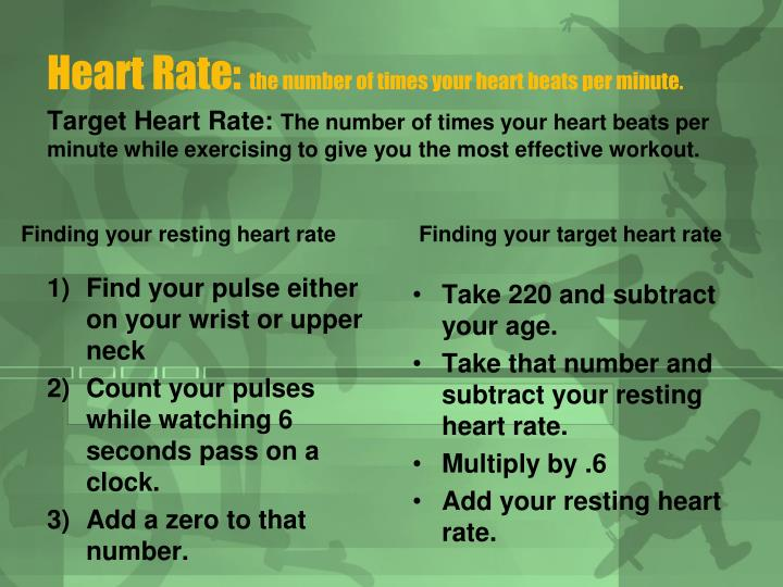 Heart Rate: