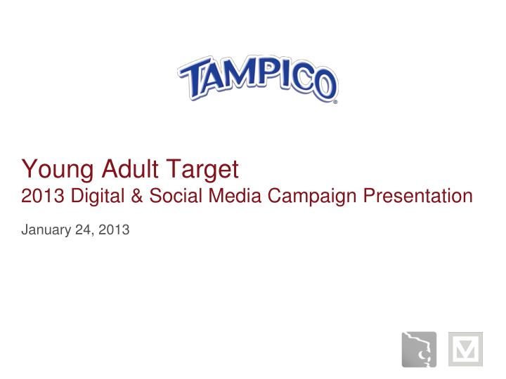 young adult target 2013 digital social media campaign presentation n.