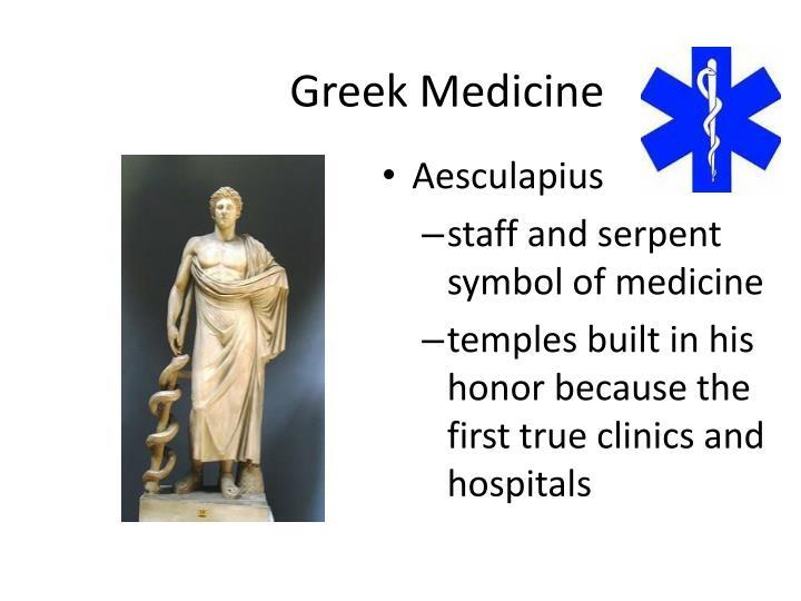 Greek Medicine