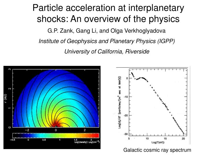 an overview of the experiments with particle accelerators
