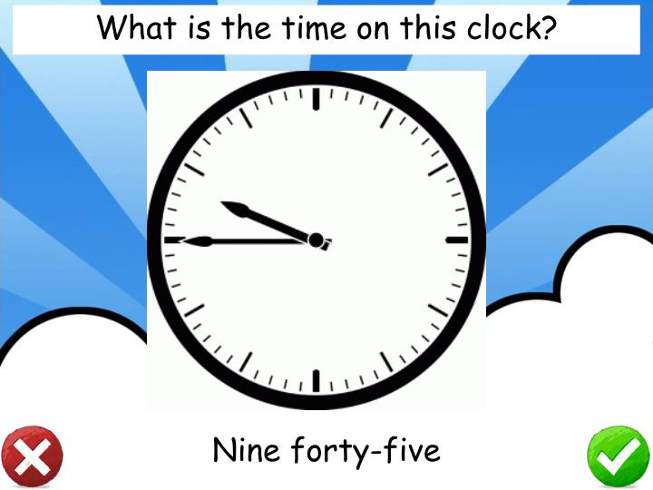 What is the time on this clock?