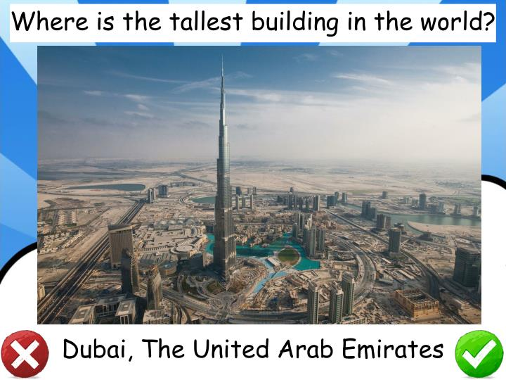 Where is the tallest building in the world?
