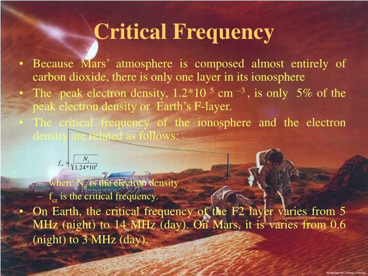 Critical Frequency