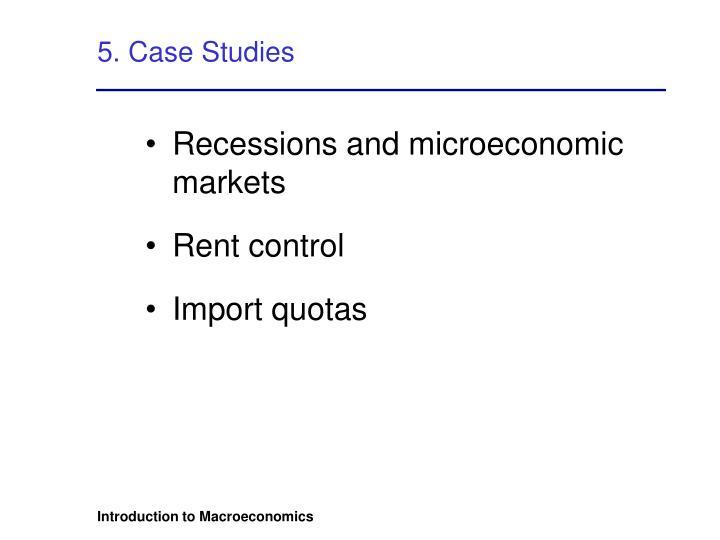 5. Case Studies