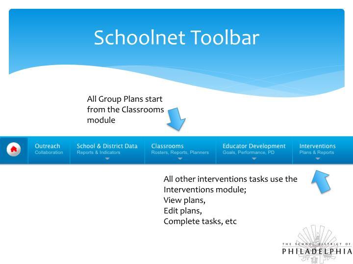 Schoolnet Toolbar