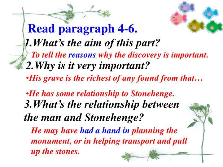 Read paragraph 4-6.