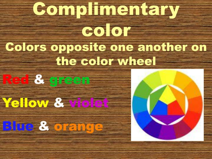 Complimentary color