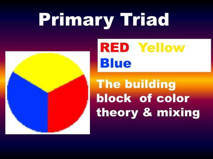 Primary Triad