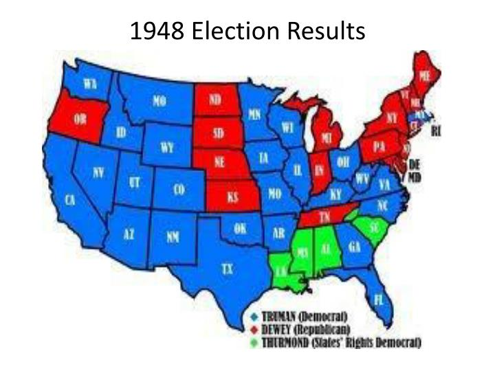 1948 Election Results