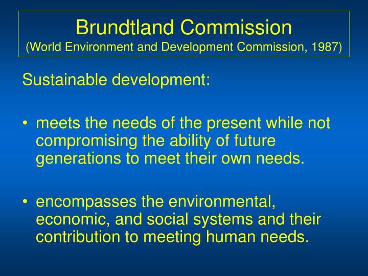 Brundtland Commission