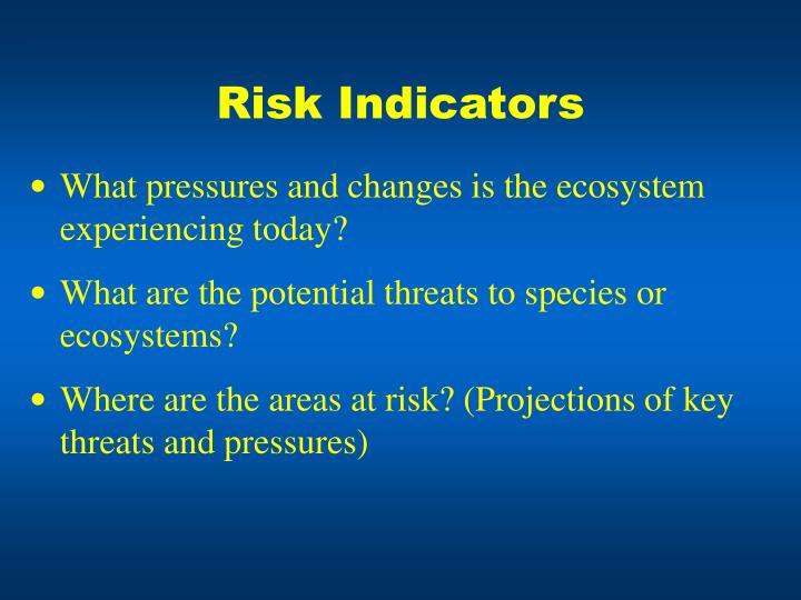 Risk Indicators