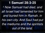 1 samuel 28 3 25