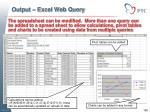 output excel web query5