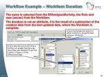 workflow example workitem duration1