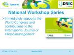 national workshop series1
