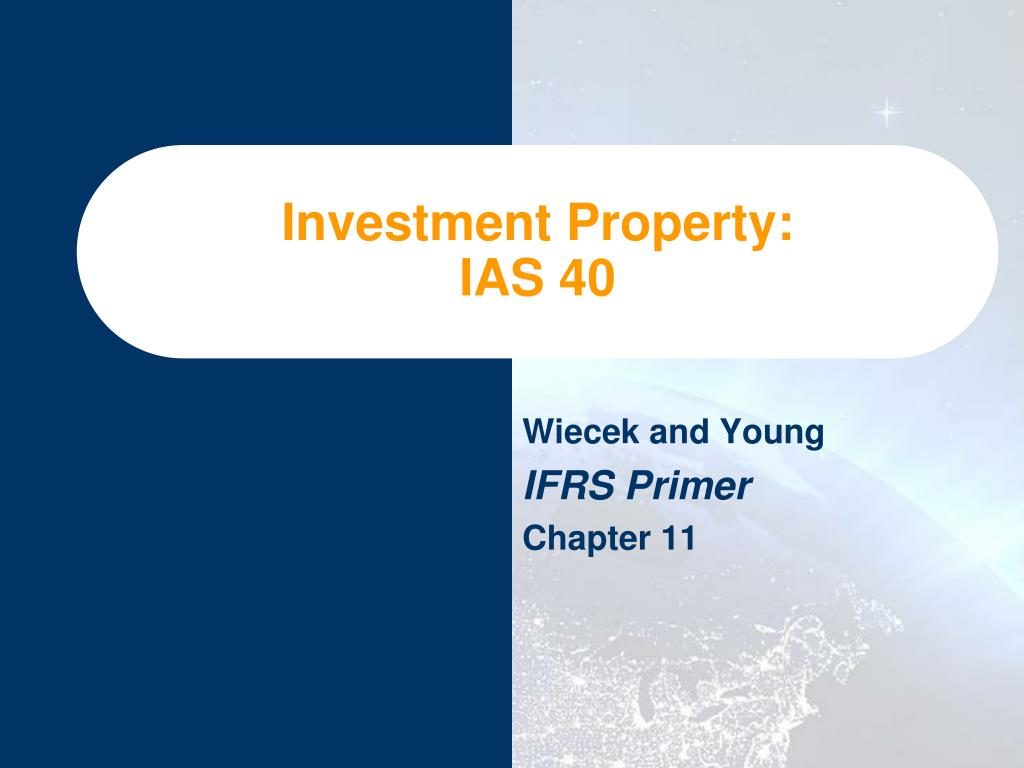 ifrs ias 40 investment