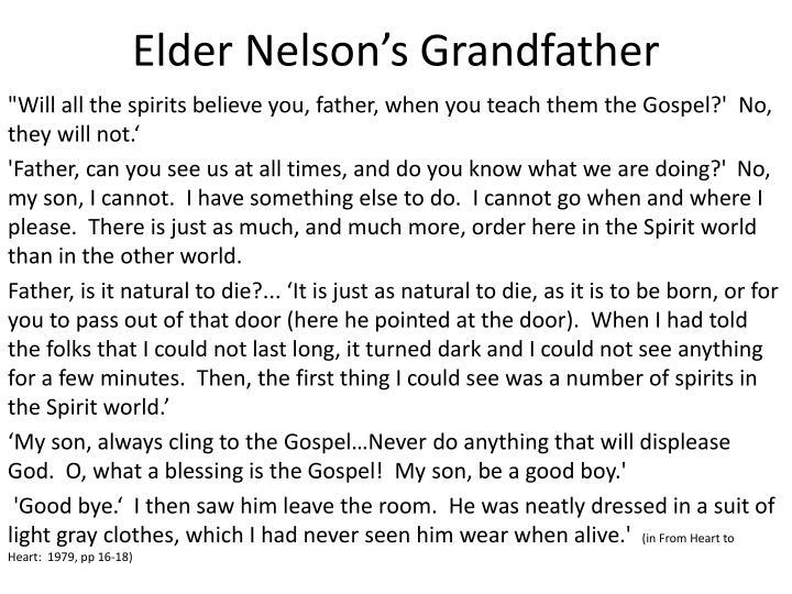 Elder nelson s grandfather1