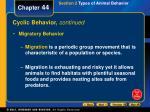 cyclic behavior continued1