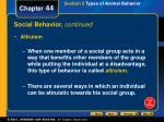 social behavior continued1