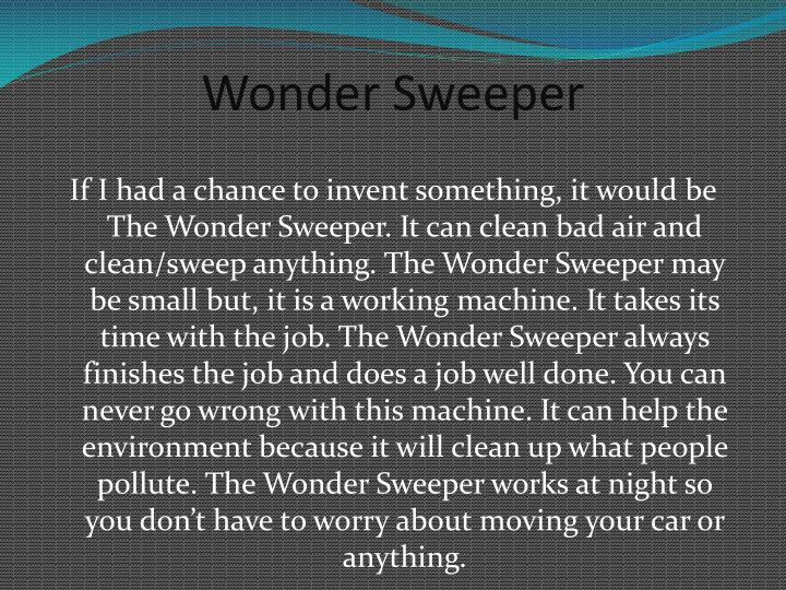 Wonder sweeper1