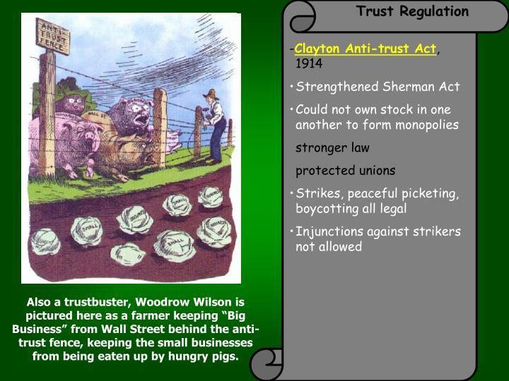 Trust Regulation