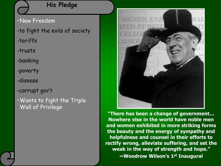 His Pledge