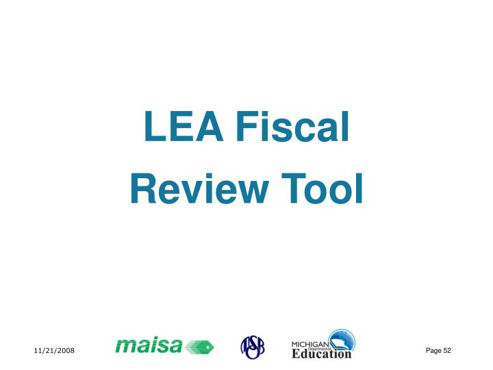 LEA Fiscal